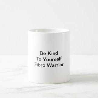 Seien Sie zu selbst Faser Krieger-Kaffee-Tasse Kaffeetasse