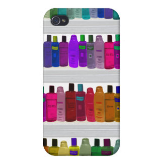 Seifen Sie Flaschen-Regenbogen - für Badezimmer, iPhone 4/4S Hülle