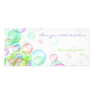 Seifenblasen Kartendruck