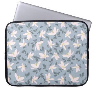 Seifenerz der Blumen Elektronik-Tasche Laptopschutzhülle