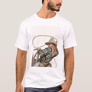 Seil-Cowboy T-Shirt