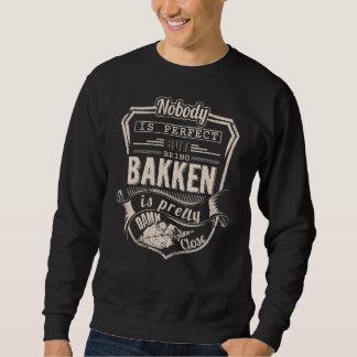 Sein BAKKEN ist hübsch. Geschenk-Geburtstag Sweatshirt