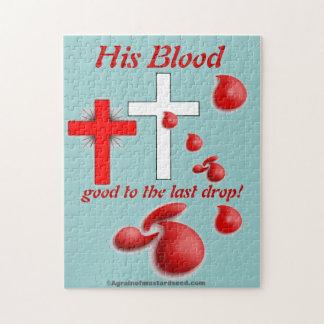 Sein Blut-Weihnachten Puzzle