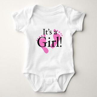 Sein ein Mädchen - Baby, neugeboren, Babyparty Baby Strampler