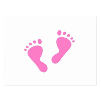 Sein ein Mädchen - Babyparty, neugeboren Postkarte