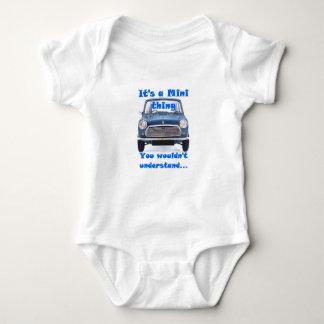 Sein eine Minisache….Baby-Bodysuit Baby Strampler