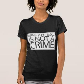 Sein eine Pitbull ist nicht ein Verbrechen T-Shirt