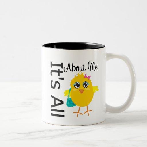 Sein ganz ungefähr ich Küken Tee Tassen