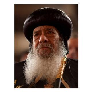 Sein Heiligkeits-Papst Shenouda III Postkarte