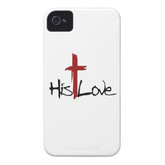Sein Liebe-Kreuz-Logo Case-Mate iPhone 4 Hülle