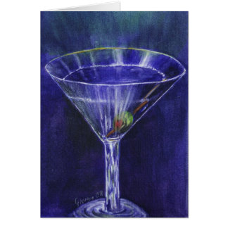 sein Martini Karte