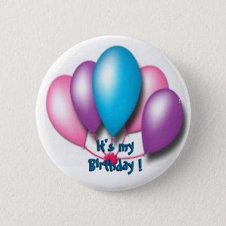 Sein mein Geburtstag Runder Button 5,1 Cm