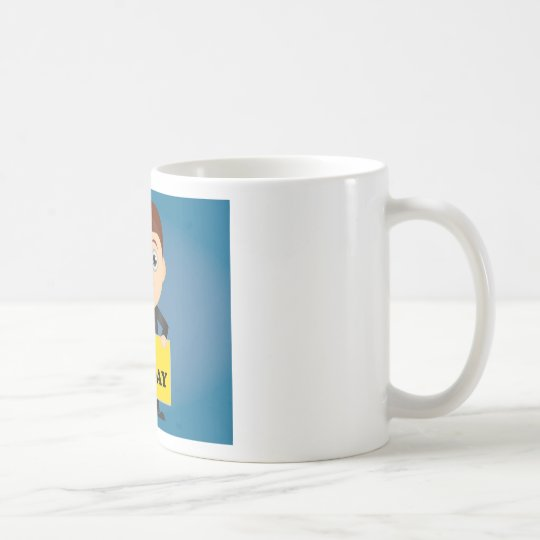 Sein Montag Kaffeetasse