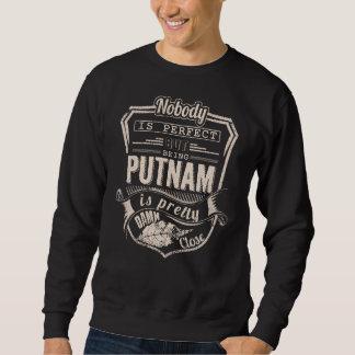 Sein PUTNAM ist hübsch. Geschenk-Geburtstag Sweatshirt