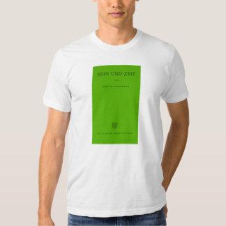 Sein Und Zeit/Sein und Zeit Heidegger Grün Tshirt