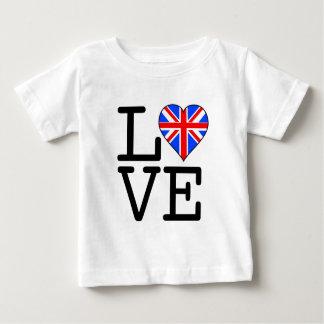 Seine BRITISCHE Liebe! Baby T-shirt