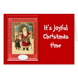 Seine frohe Weihnachtszeit Karte
