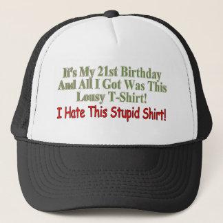 Seine meine 21. Geburtstags-Geschenke Truckerkappe