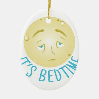 Seine Schlafenszeit Keramik Ornament