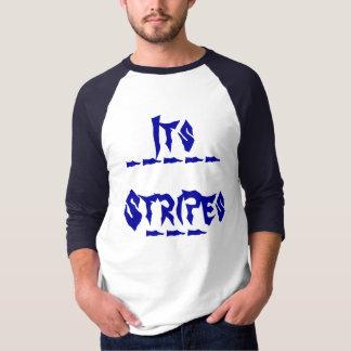 Seine Streifen, ________________________________… T-Shirt