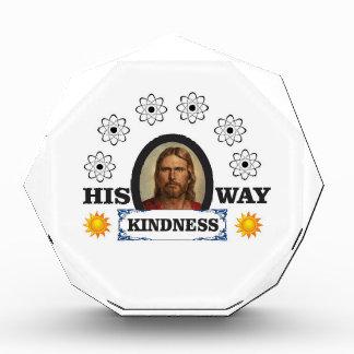 Seine Weise ist Güte Acryl Auszeichnung