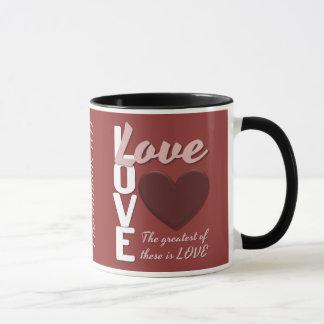 Seins/ihrs Glauben-und Liebe-Bibel versifizieren Tasse