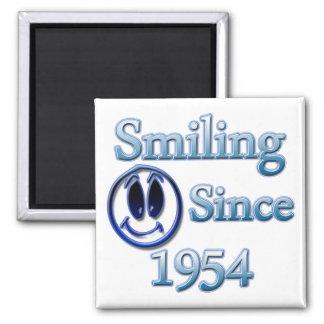 Seit 1954 lächeln kühlschrankmagnet