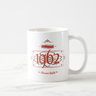 Seit 1962 (Red&Black) Kaffeetasse