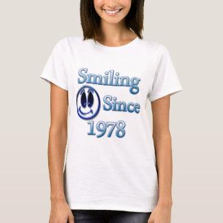 Seit 1978 lächeln T-Shirt