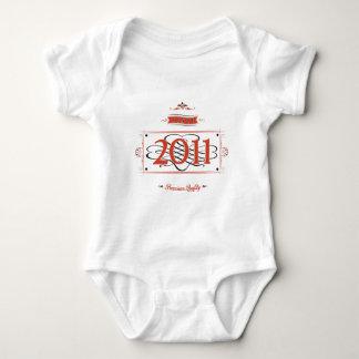 Seit 2011 (Red&Black) Baby Strampler