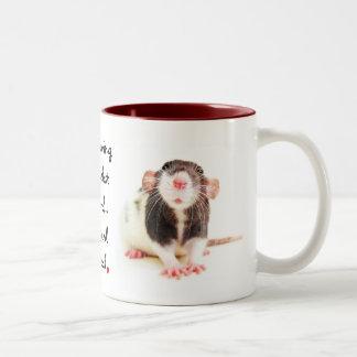 Seit dem Besitzen der Ratten… Kaffee Haferl