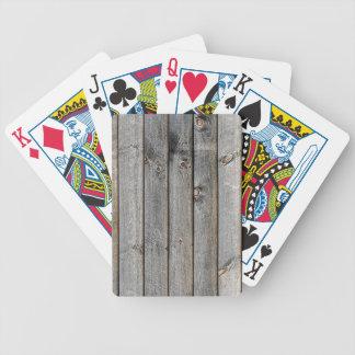 Seite einer Scheune Bicycle Spielkarten