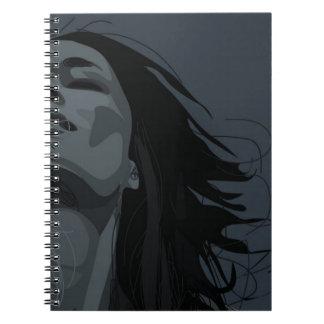 Seiten des Fotonotizbuches 80 Notizblock