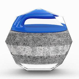 Seitenansicht des kräuselnsteins acryl auszeichnung