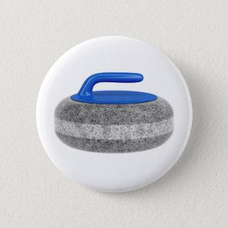Seitenansicht des kräuselnsteins runder button 5,7 cm