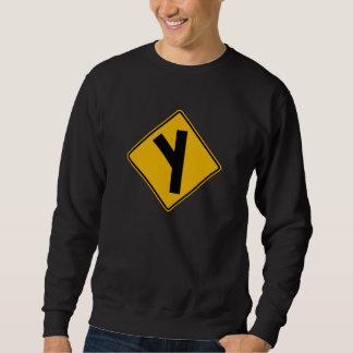 Seitenstraßen-schiefes links, sweatshirt