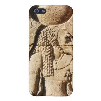 Sekhmet Löwin hieroglyphisch iPhone 5 Hülle
