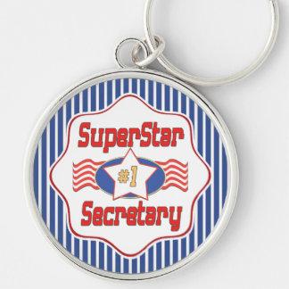 Sekretär der Superstar-Zahl-eine Schlüsselanhänger