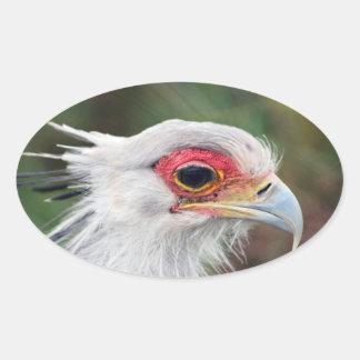 Sekretär Vogel von Südafrika Ovaler Aufkleber