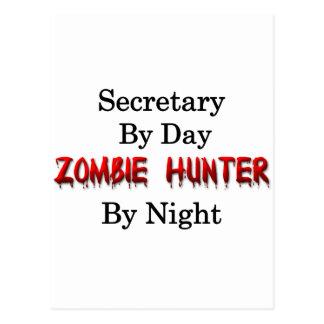 Sekretär-/Zombie-Jäger Postkarte