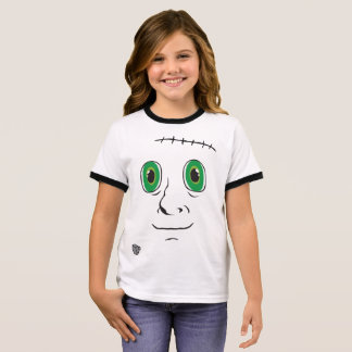 Selbst gemachtes Monster Ringer T-Shirt
