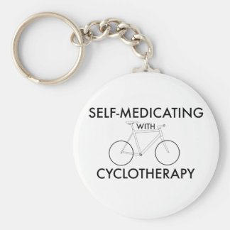 Selbst-Medizinisch behandeln mit cyclotherapy Schlüsselanhänger