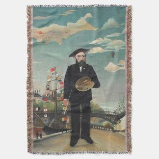 Selbst Porträt-Landschaft 1890, Henri Rousseau Decke