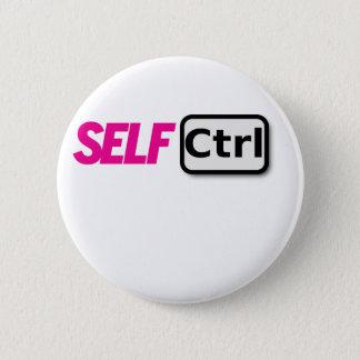 SelbstKontrolle Runder Button 5,7 Cm