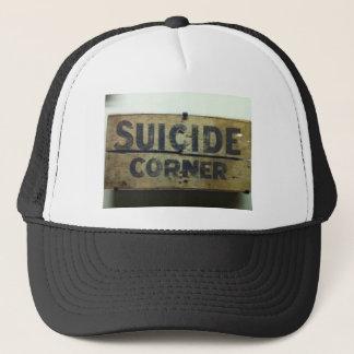 Selbstmord-Ecke Truckerkappe