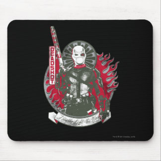 """Selbstmord-Gruppe   Deadshot """"ich bin das helle """" Mousepad"""