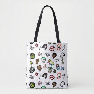 Selbstmord-Gruppe Emoji Muster der Tasche