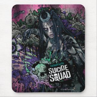 Selbstmord-Gruppe  Enchantress-Charakter-Graffiti Mousepad
