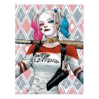 Selbstmord-Gruppe | Harley Quinn Postkarte