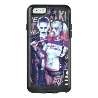 Selbstmord-Gruppe | Joker-u. Harley OtterBox iPhone 6/6s Hülle